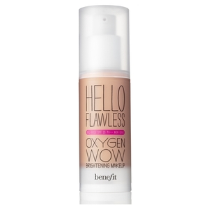 benefit hello flawless oxygen wow brightening foundation spf25