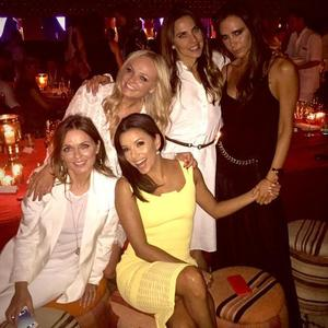 Victoria Beckham and husband David celebrate his 40th birthday in Marrakech surrounded by friends, 2 May 2015