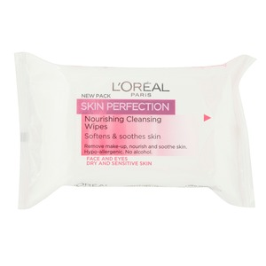 l'oreal paris nourishing cleansing wipes £3.99