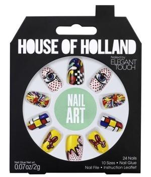 House of Holland False Nails Nail Art