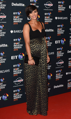 Frankie Bridge at the BT Sport Industry Awards held at the Battersea Evolution - 30 April.