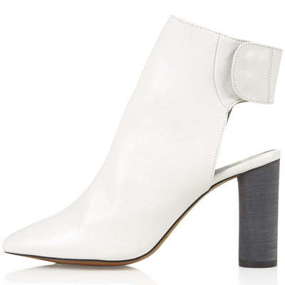 topshop white boots £78