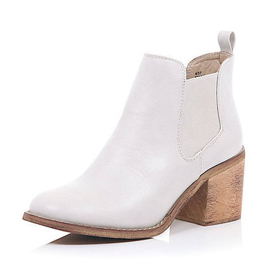 white boots river island 38