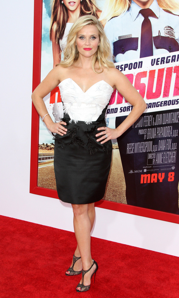 Reese Witherspoon arrives at Los Angeles premiere of 'Hot Pursuit' at TCL Chinese Theatre IMAX, 30th April 2015