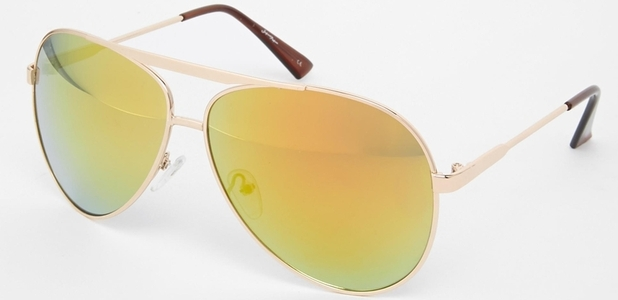 mirrored aviator sunglasses jeepers peepers 1st may