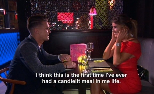 Gary Beadle and girlfriend Lillie Lexie Gregg, Geordie Shore, Series 10, Episode 4 28 April