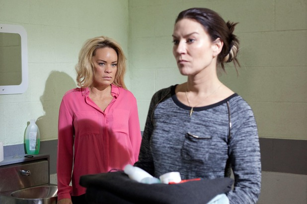 Hollyoaks, Reenie is Grace's new cellmate, Wed 29 Apr
