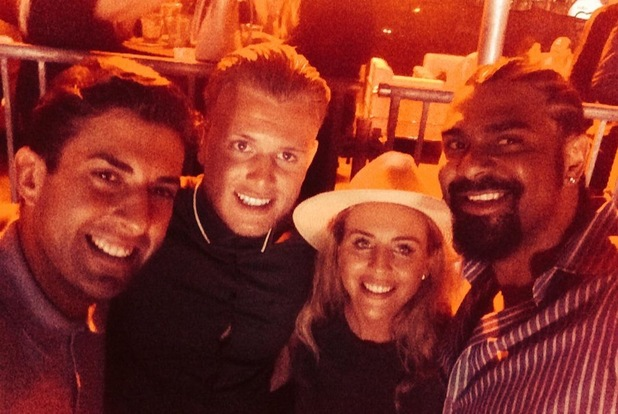 James Arg Argent, David Haye, Lydia Bright and Tommy Mallet, Blended Festival, Dubai
