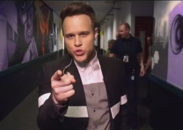 Olly Murs X-Factor promo on YouTube, 30th April 2015