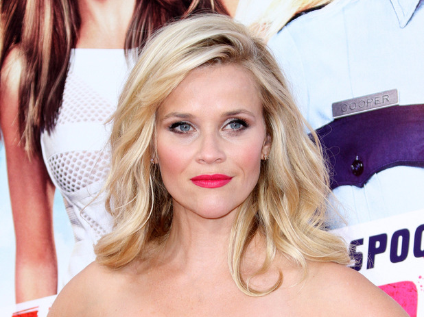 Reese Witherspoon arrives at Los Angeles premiere of 'Hot Pursuit' at TCL Chinese Theatre IMAX , 30th April 2015