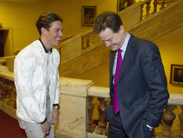Nick Clegg and Joey Essex, Educating Joey Essex: General Election, what are you saying?! on ITV2