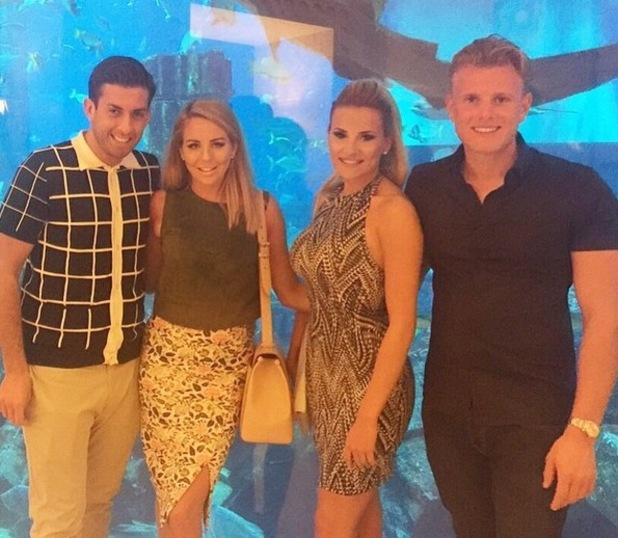 Lydia Bright, James Arg Argent, Tommy Mallet, Georgia Kousoulou, Dubai 26 April