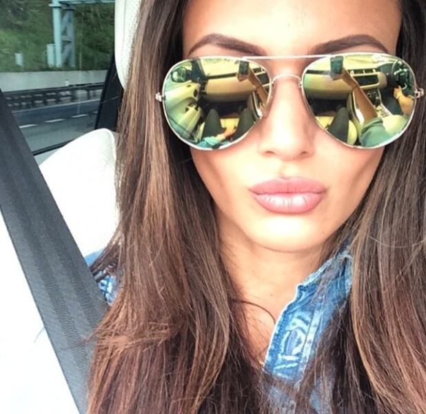 Michelle Keegan Looks Oh So Cool In Her Latest Sunglasses