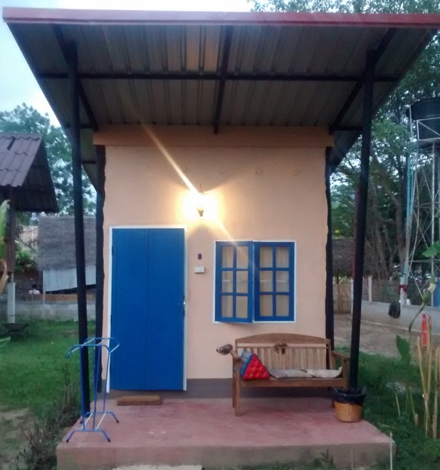 Our hut in Pai, 26/4/15
