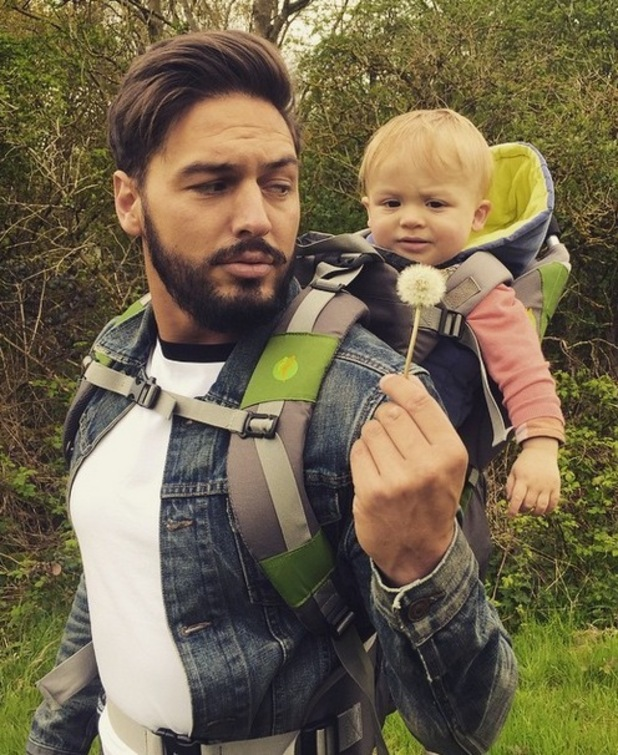 Mario Falcone shares photo with nephew Buzz on Instagram 27th April 2015