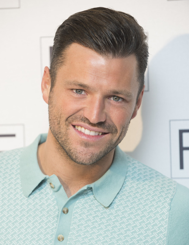 Mark Wright at the F and F fashion showcase in London - 21 April 2015.