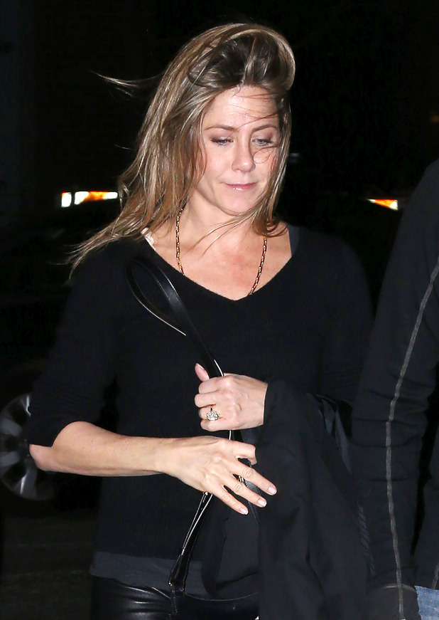 Jennifer Aniston out and about, New York, America - 29 Apr 2015