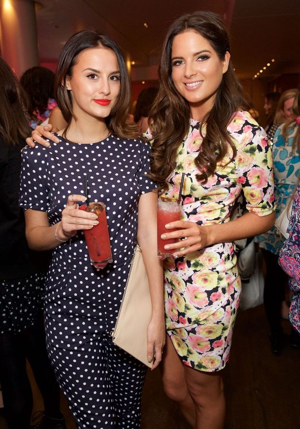 Lucy Watson and Binky Felstead at Very.co.uk's summer party, London 29 April