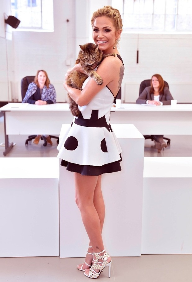 Sarah Harding judges the nationwide search for the UK¹s Happiest Cat