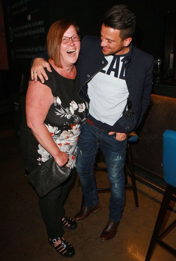 Dee Kelly and Peter Andre, Birmingham 27 April