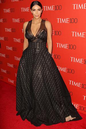 Kim Kardashian at Time 100 Gala, New York, America on 21 April 2015