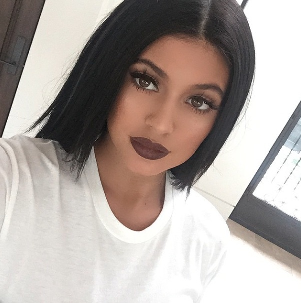 Kylie Jenner takes to Instagram to share picture of her brown lips