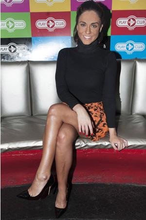 Vicky Pattison at Play nightclub in Dublin on 23 December 2014