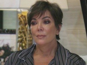 Kris Jenner has an emotional heart-to-heart with Kim Kardashian over Bruce's transition -5 May 2015.