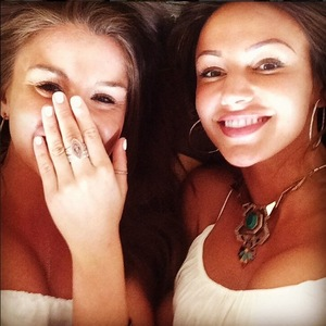 Brooke Vincent and Michelle Keegan in Dubai for hen do 5 May