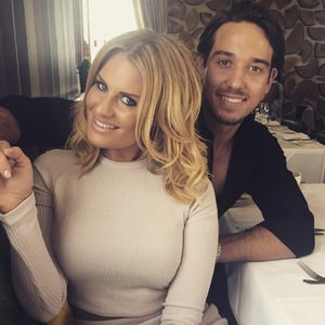 James 'Lockie' Lock takes girlfriend Danielle Armstrong out for a birthday lunch - 3 May 2015.