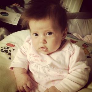 Jacqueline Jossa shares photo of daughter Ella Osborne, Instagram 3 May