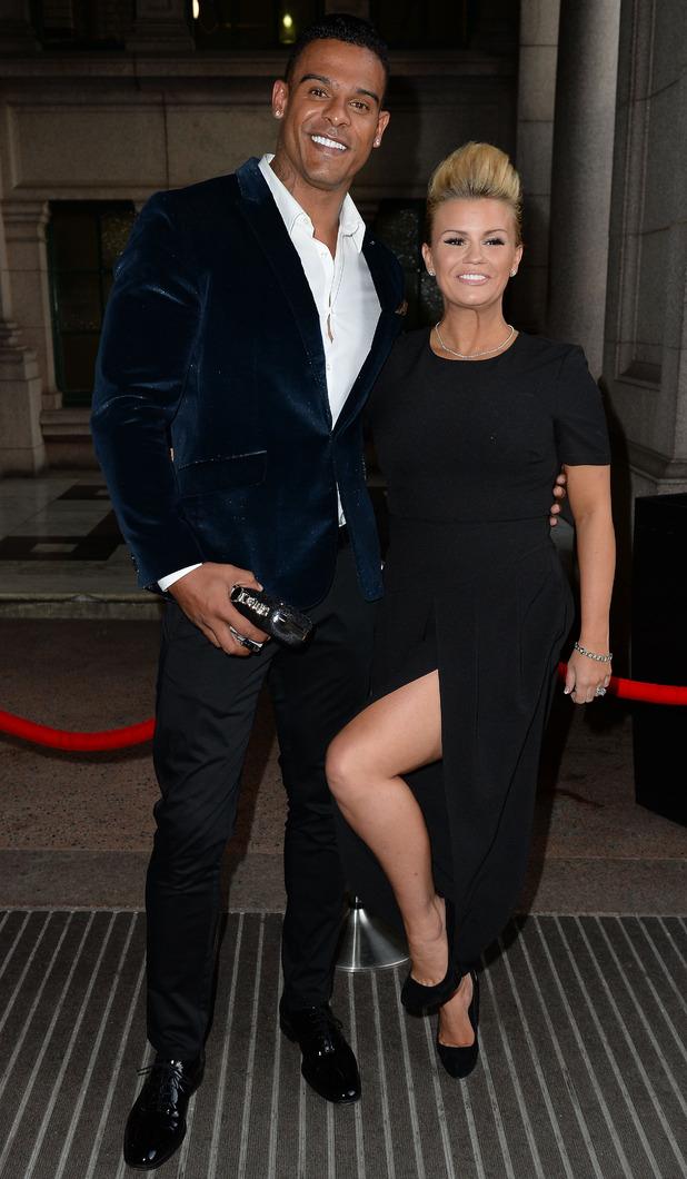 Kerry Katona and husband George Kay at the Miss Manchester Finals - 8 May 2015.