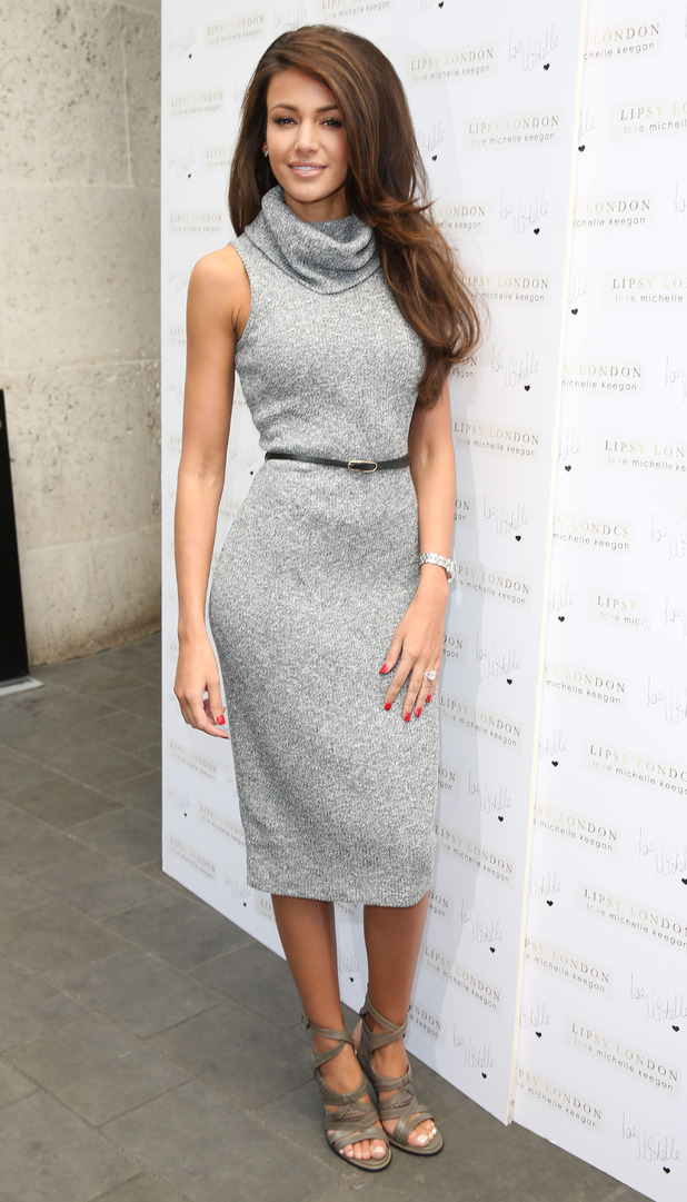 Michelle Keegan attends Lipsy Launch in London at the ME Hotel 7th May 2015