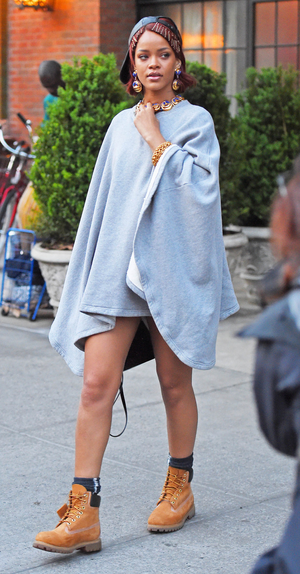 Rihanna out and about in New York 7th May