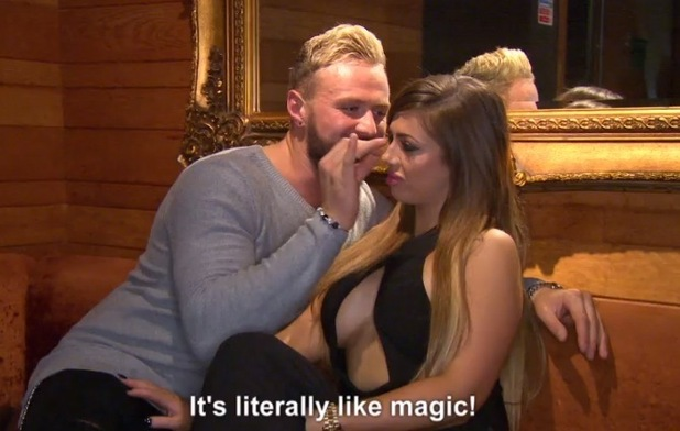 Kyle Christie and Holly Hagan, Geordie Shore, Series 10, Episode 5 5 May