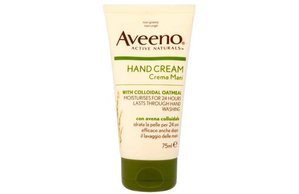 aveeno nourishing hand cream