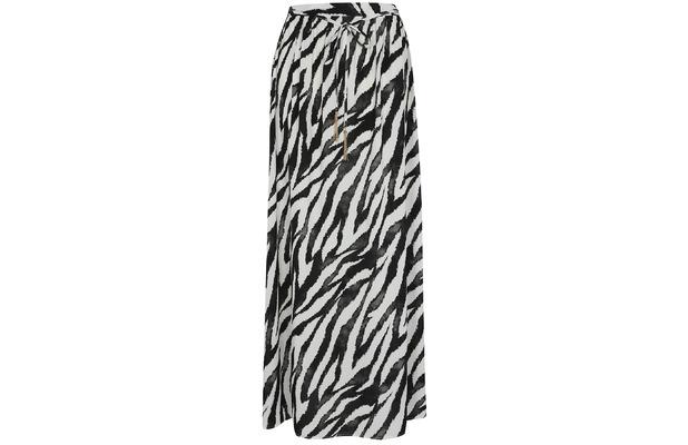 george at asda maxi skirt with zebra print