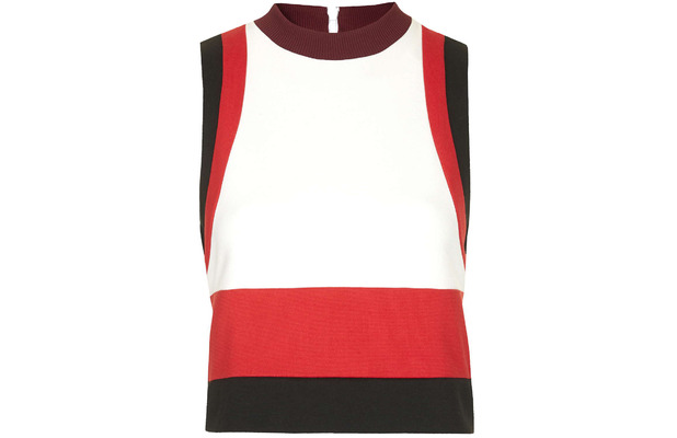 Topshop Knitted Tank Top with striped Unique, £65