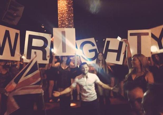 Mark Wright gets treated to a grand gesture on his stag do in Las Vegas - 8 May.