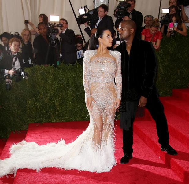 Kimye arrive at the Met Gala in New York - 4 May 2015.
