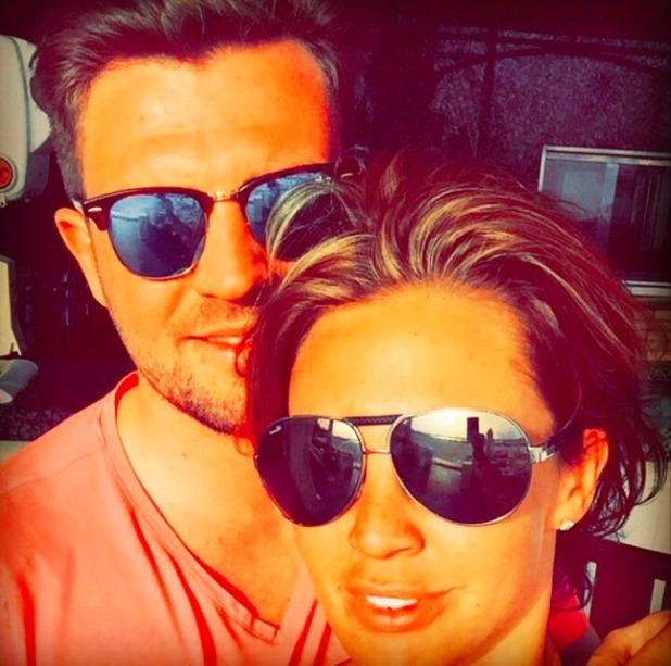 Danielle Lloyd and new boyfriend Tom Jimson, 19 April 2015
