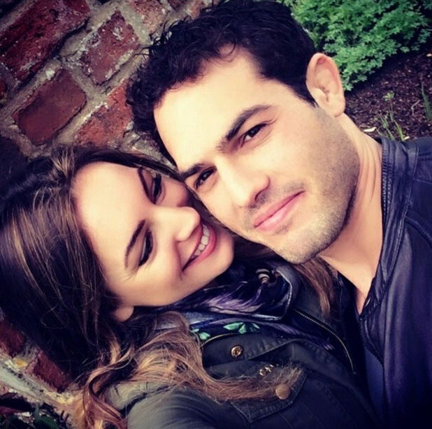 Kelly Brook and Jeremy Parisi in Kent, UK 5 May