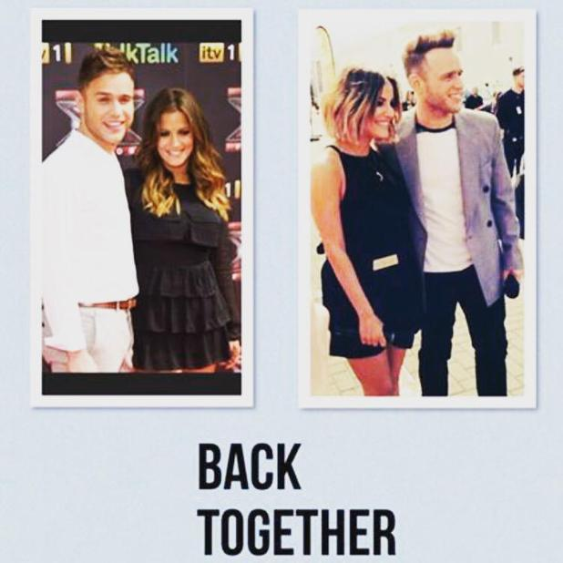 Caroline Flack loves working with Olly Murs on The X Factor, 10 May 2015