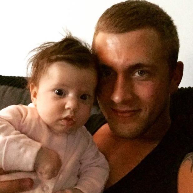 Dan Osborne shares more adorable snaps of daughter Ella, 8 May 2015