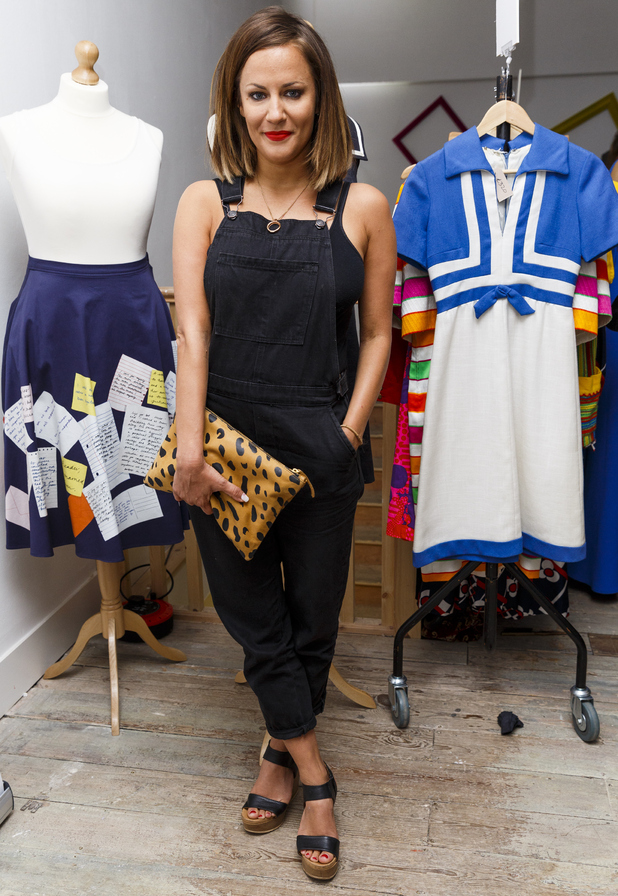 Caroline Flack attends BOB By Dawn O'Porter Pop Up Boutique - VIP Launch Party, Covent Garden, London 6 May