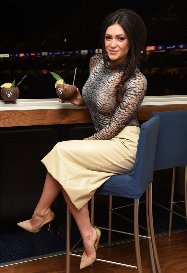 Casey Batchelor at the Malibu Rum Suite for Olly Murs at The O2, 5th April 2015