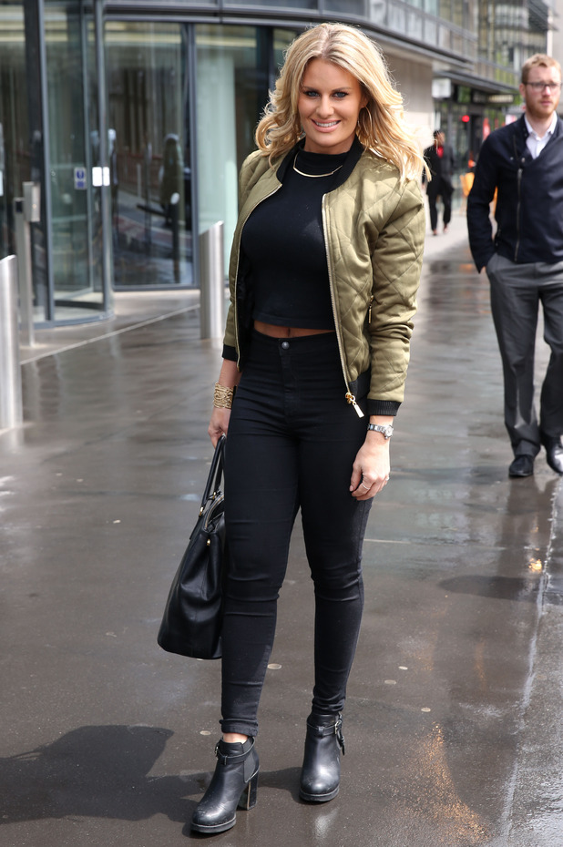 Danielle Armstrong at The Only Way is Essex 'Marbs Edition' fragrance launch, London, Britain - 06 May 2015