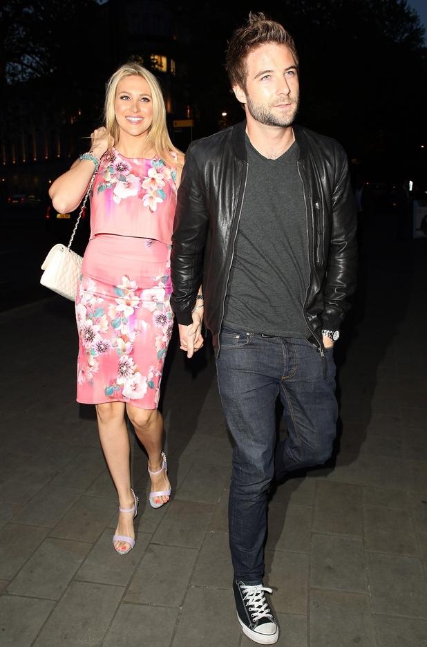 Stephanie Pratt and Josh Shepherd, Michelle Keegan Lipsy Launch, ME Hotel, London 7 May