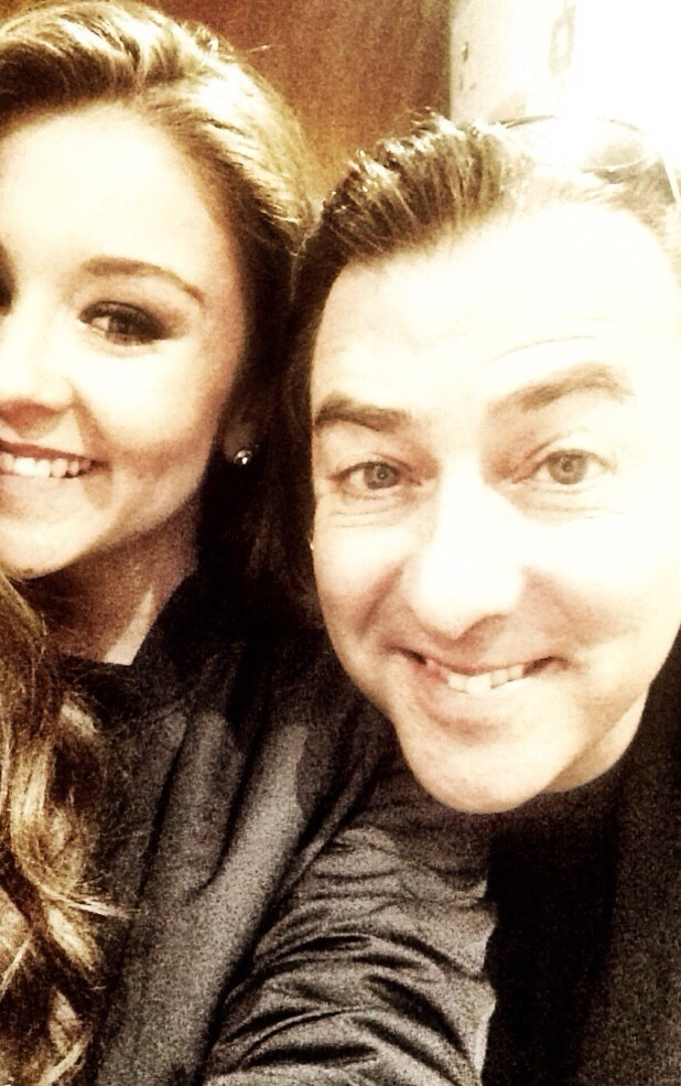 Brooke Vincent with Jonathan Ross on Play To The Whistle - 6 May 2015.