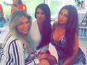 Lauren Goodger, Frankie Essex and Cara Kilbey attends Billi Mucklow's baby shower, 3 May 2015